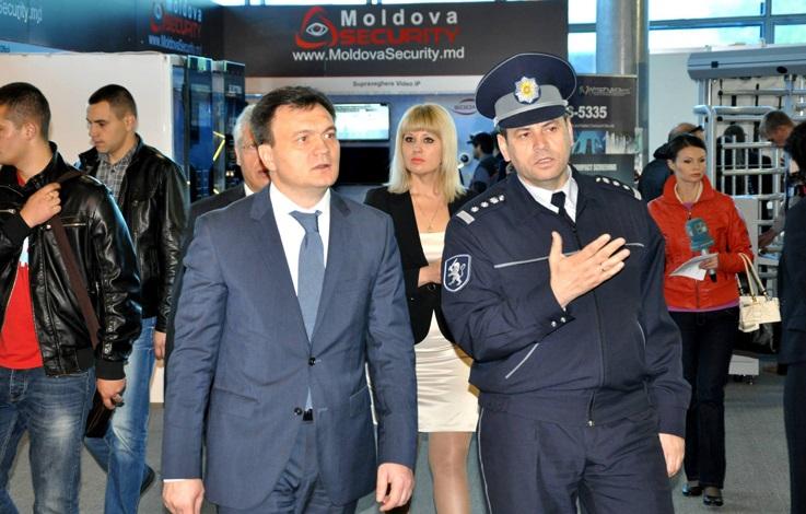 Dorin Recean minister spraw wewnętrznych Mołdawii
