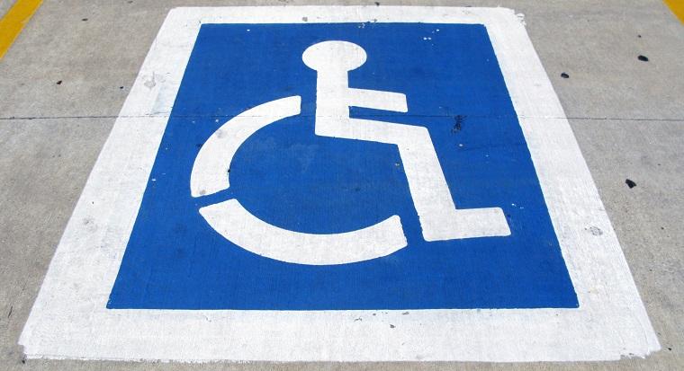 Znak - miejsce parkingowe dla niepełnosprawnych