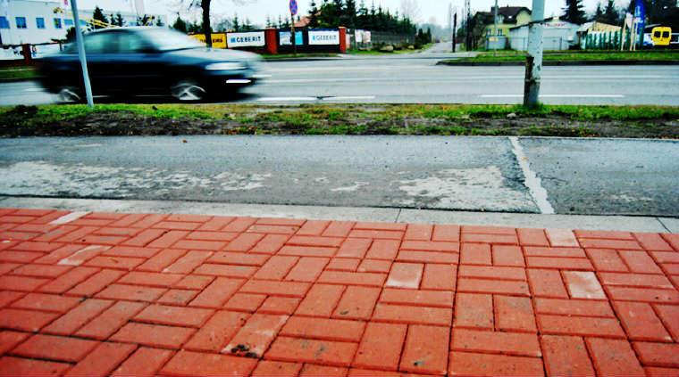 Ścieżka rowerowa i chodnik w Częstochowie