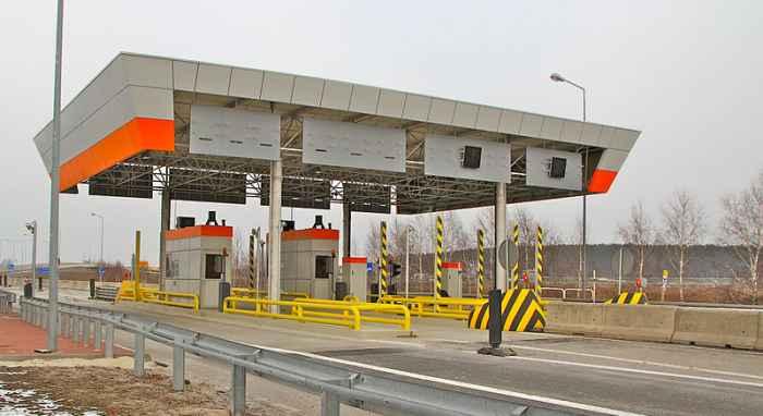 Autostrada A4 bramki poboru opłat