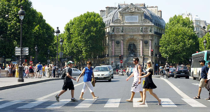 Przejście dla pieszych w Paryżu Fot. Aleksandr Zykov CC-ASA-2.0