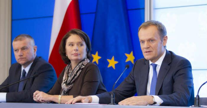 Rząd konferencja premier Donald Tusk