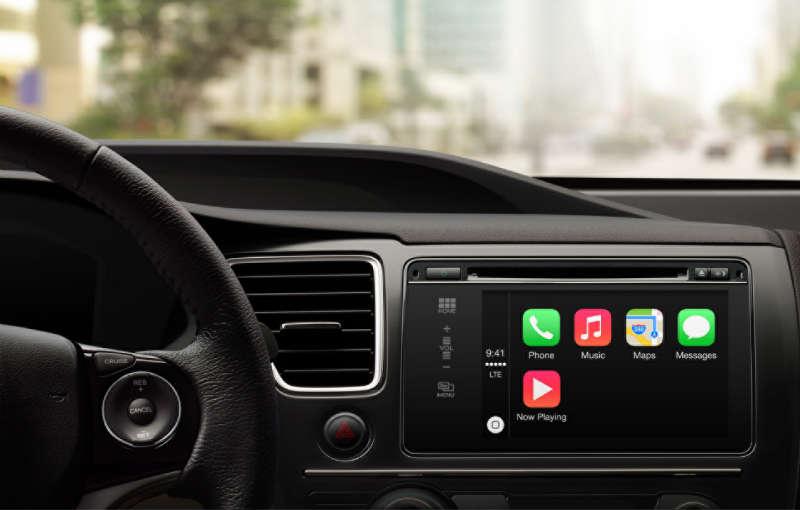 CarPlay system samochodowy Apple