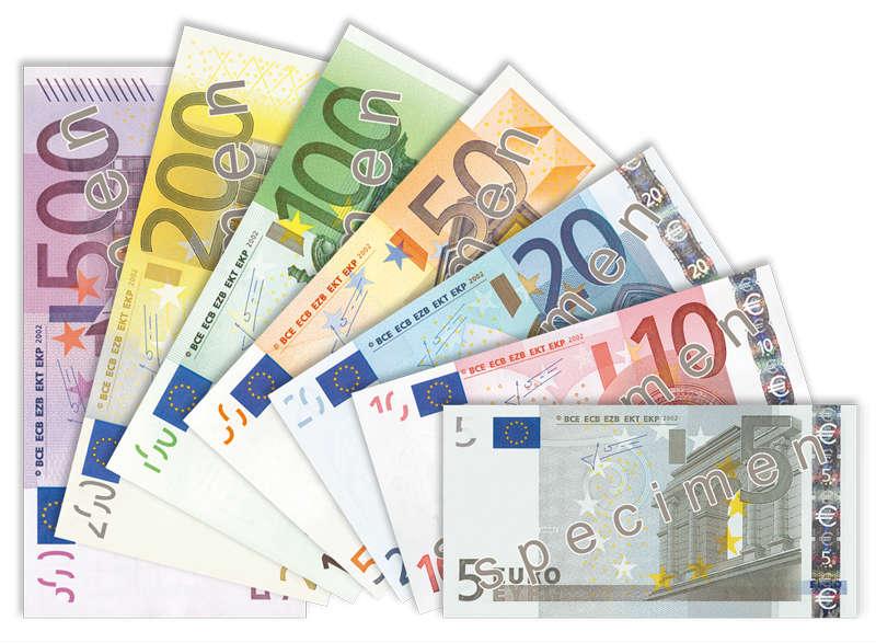 Banknoty euro Fot.ECB CC-BY-3.0