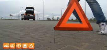 Zabezpieczenie wypadku. Źródło: YouTube