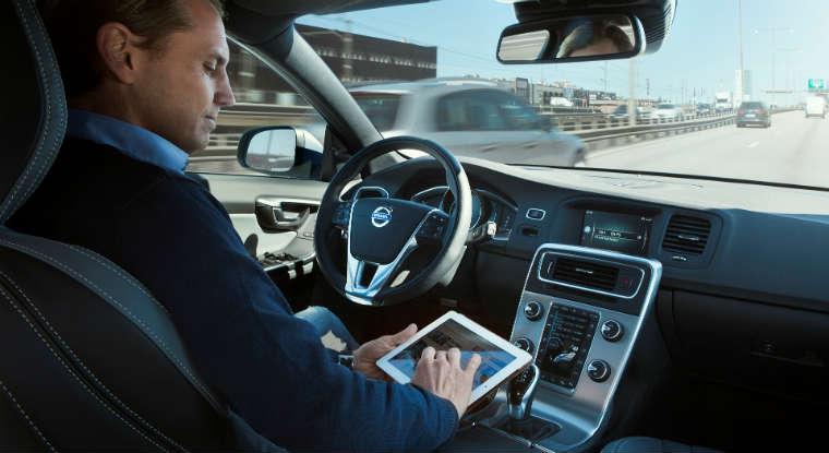 Autonomiczny samochód volvo tworzony w ramach programu Drive Me. Źródło: volvo