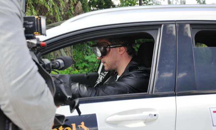 Akcja Trzeźwy kierowca zorganizowana przez ZDM Warszawa Fot. ZDM