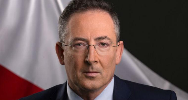 Bartłomiej Sienkiewicz, minister spraw wewnętrznych.Źródło: MSW