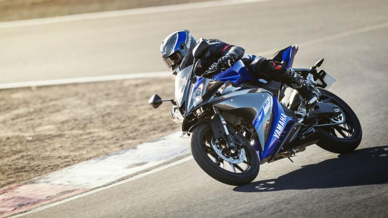 Motocykl Yamaha YZF-R125 Źródło: yahama-morors.eu