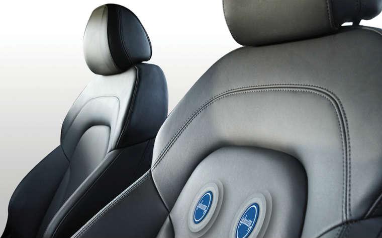 Fotel kierowcy z sensorami EKG Fot. Nottingham Trent University