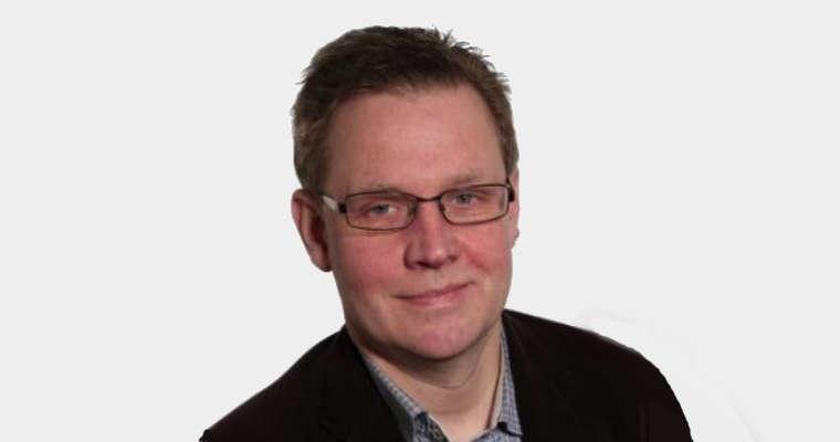 Magnus Andersson ze stowarzyszenia Q3 promującego zrównoważony i bezpieczny transport. Fot. arch. prywatne