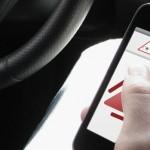 VisGuard - aplikacja, która ma pomóc kierowcom, by nie rozpraszali swojej uwagi Źródło:VisGuard.com