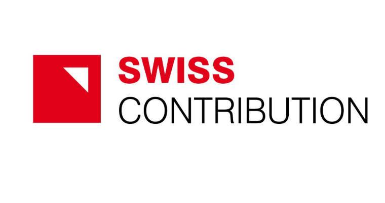 Swiss Contribution - logo programu współpracy polsko-szwajcarskiej