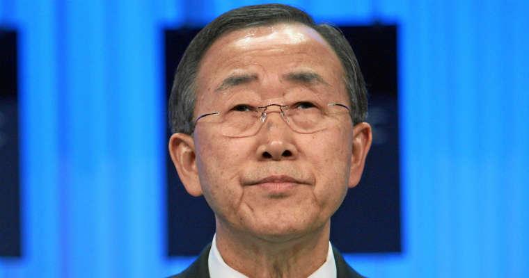 Ban Ki-Moon, sekretarz generalny ONZ. Fot. Wordl Economic Forum/CC-ASA-2.0