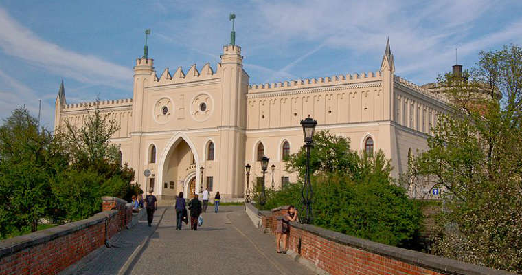 Zamek w Lublinie. Fot. Szater/CC-BY-3.0