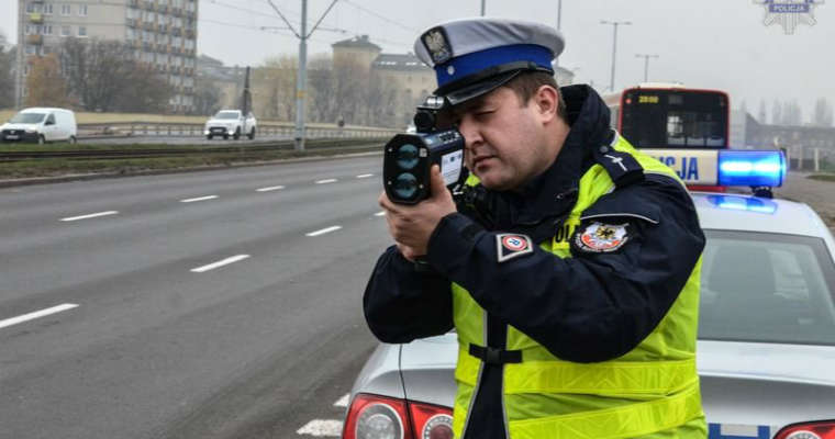 Nowe laserowe mierniki prędkości dla policji z Pomorza Fot. policja