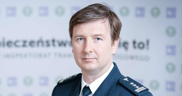 Marcin Flieger, dyrektor Centrum Automatycznego Nadzoru nad Ruchem Drogowym