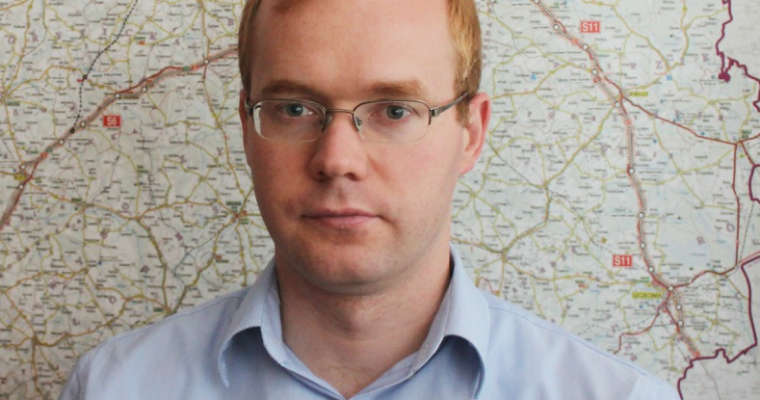 Mateusz Grzeszczuk, rzecznik oddziału GDDKiA w Szczecinie. Fot. GDDKiA