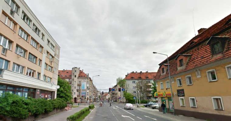 Ulica Jaworzyńska w Legnicy. Fot. Google Maps