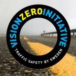 Logo szwedzkiej wizji zero - Vision Zero Initiative. Fot. VZI