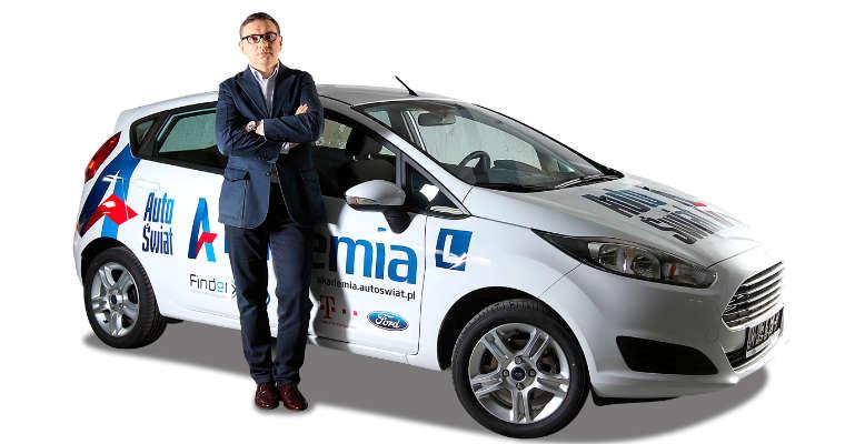 Paweł Tomaszek, dyrektor zarządzający w Akademia Auto Świat. Źródło: Akademia Auto Świat