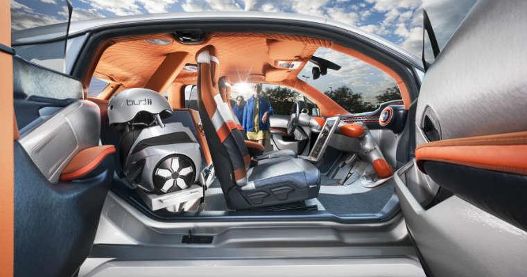 Samochód Rinspeed Budii. Fot. Rinspeed