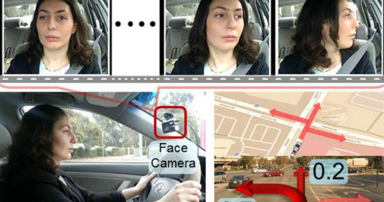 Brain4Cars - system przewidywania decyzji kierowcy. Fot. brain4cars.com