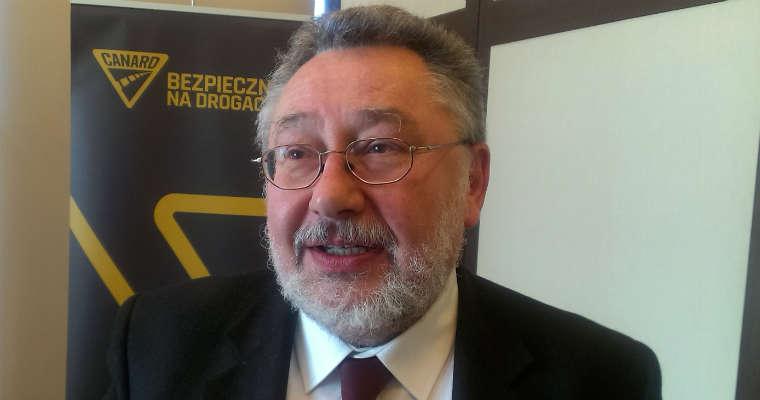 Dr Andrzej Markowski, psycholog transportu Fot. Łukasz Zboralski/brd24.pl