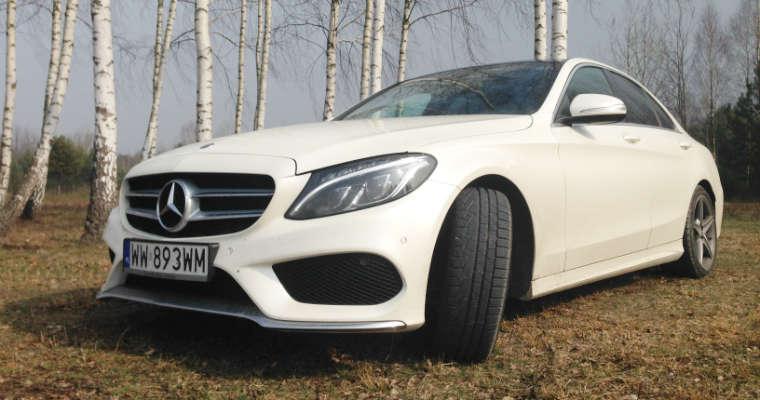 Mercedes klasa C. Fot. Wojciech Romański/brd24.pl