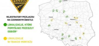 Rejestracja przejazdów na czerwonym świetle już w 13 miejscach Polski