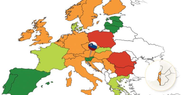 Mapa PIN 2015 ETSC Żródło: ETSC