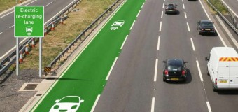 Brytyjczycy rozpoczynają prace nad drogami ładującymi samochody elektryczne