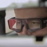 W badaniach Fundacji PZU użyto urządzeń do eyetrackingu. Fot. YouTube
