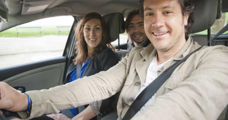 Kierowcy badani przez BlaBla Car twierdzą, że z pasażerami podróżują bezpieczniej. Fot. BlaBla Car