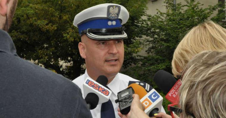 Mł. insp. Marek Konkolewski, KGP Fot. policja.pl