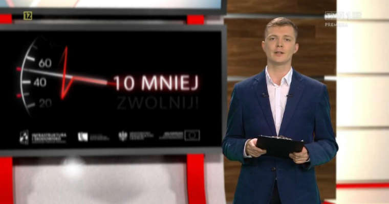 Drogi dla Ciebie - program TVP na zlecenie Sekretariatu KRBRD. Źródło: vod.tvp.pl