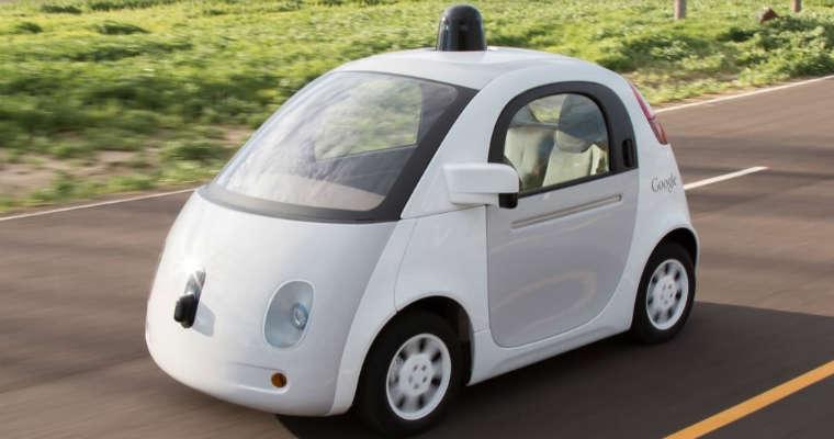 Autonomiczny samochód Google car Żródło: google.com