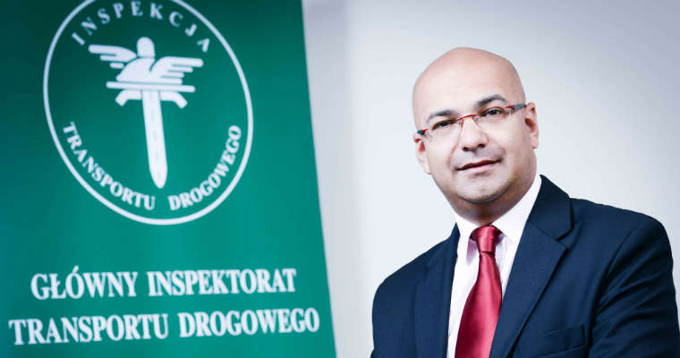 Alvin Gajadhur, p.o. Główny Inspektor Transportu Drogowego. Fot. GITD