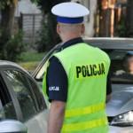 Policyjna kontrola trzeźwości. Źródło: policja.pl