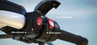 Pierwszy motocykl BMW z systemem awaryjnego powiadamiania