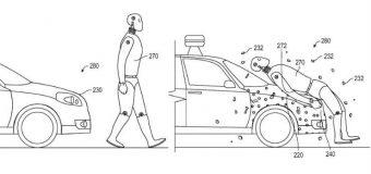 Samochód przyklei człowieka? Google opatentowało system ochrony pieszych