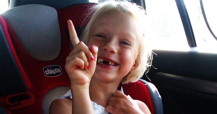 Dziecko w samochodzie. Fot. Łukasz Zboralski/brd24.pl