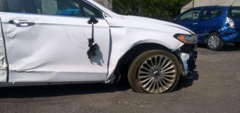 Zdarzeń na drogach nie ubywa, ale mniej wśród nich wypadków