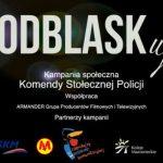 ODBLASKuj - kampania Komendy Stołecznej Policji. Fot. policja.pl