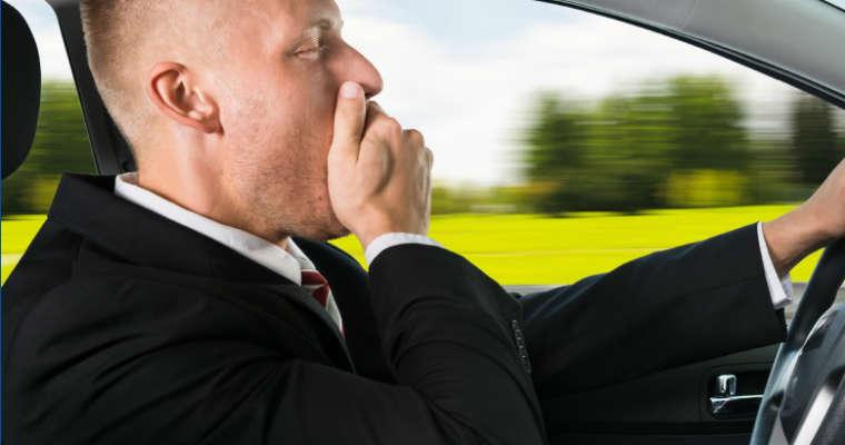 Śpiący kierowcy są ogromnym zagrożeniem Źródło: AAA Foundation for Road Safety