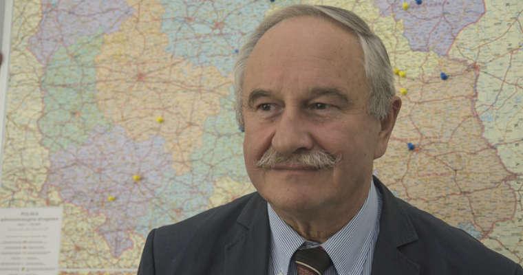 Andrzej Grzegorczyk, wiceprezes Partnerstwa dla Bezpieczeństwa Drogowego. Źródło: mniejofiar.org.pl