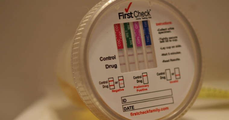 Test narkotykowy. Fot. CC-BY-SA 2.0