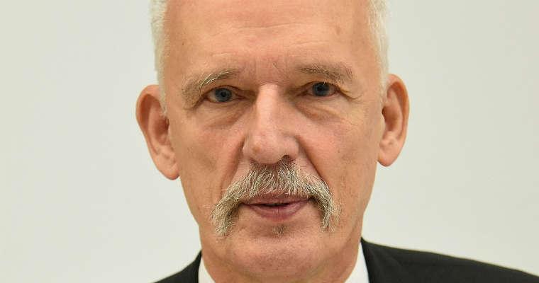 Janusz Korwin-Mikke. Fot. Adrian Grycuk. CC BY-SA 3.0