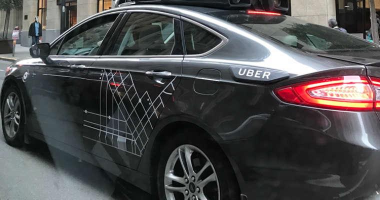 Samochód Uber Fot. Timtempleton/CC ASA 4.0