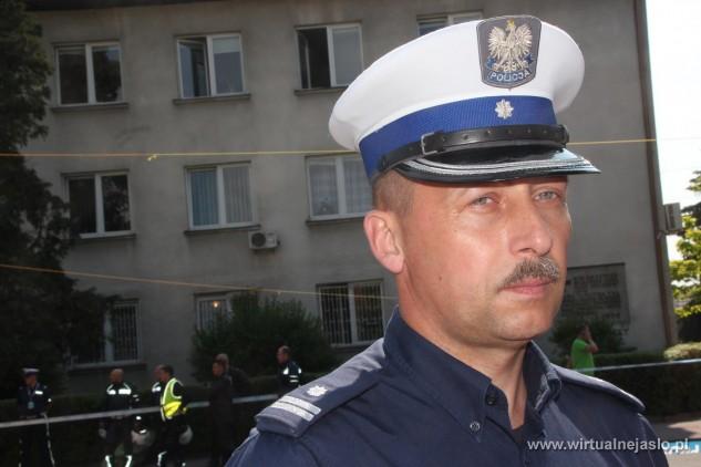 Mł. insp. Zdzisław Sudoł. Źródło: wirtualnejaslo.pl
